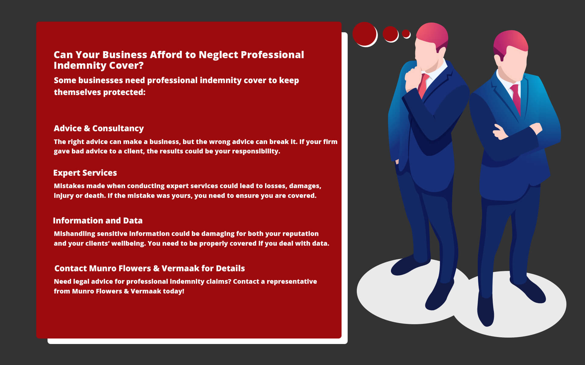 Types of Businesses that Need Professional Indemnity